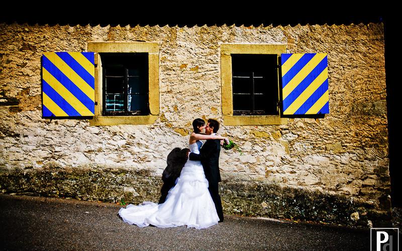 Hochzeitsfotograf in Neckarzimmern auf der Burg Hornberg