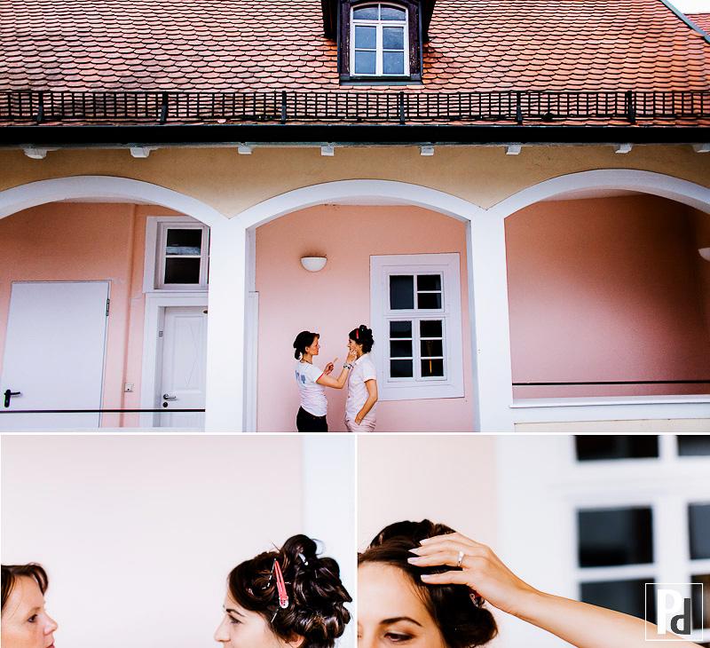 Hochzeit Freinsheim getting ready Braut