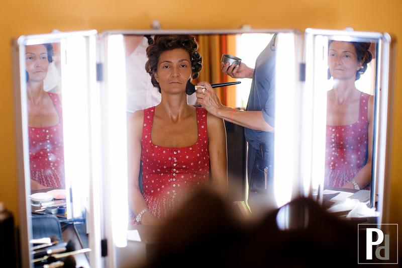 Hochzeit La Villa am Starnberger See getting ready Braut