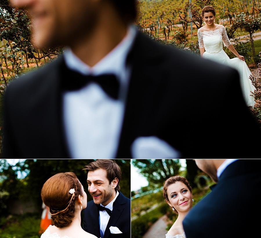 Hochzeit Weingut Fitz Ritter first look