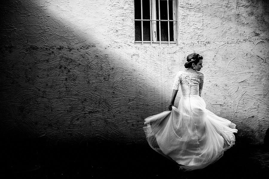 Hochzeitsfotograf Weingut Fitz Ritter Brautportraits