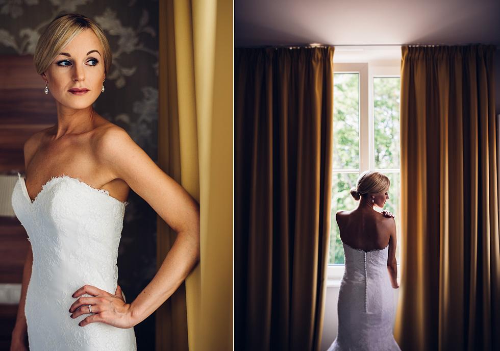 Hochzeitsfotograf Molkenkur Portrait Braut