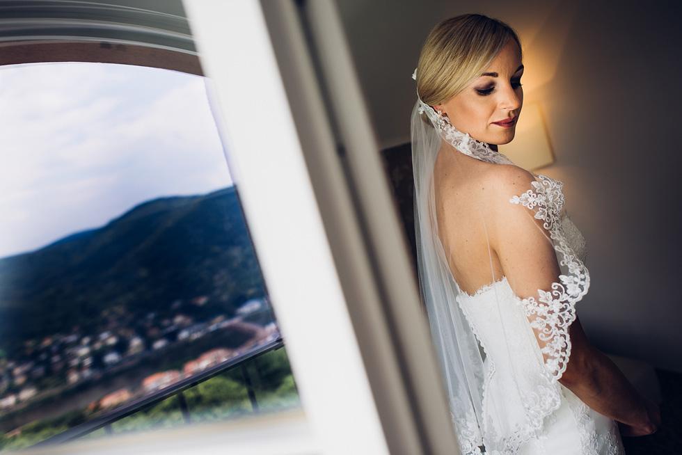 Hochzeit Fotograf Molkenkur Portrait Braut