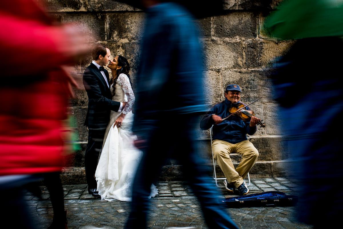Hochzeitsfotos vor der Trauung