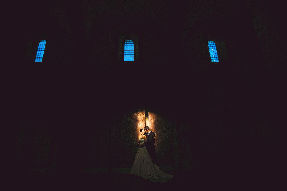 beste Zeit für Hochzeitsportraits