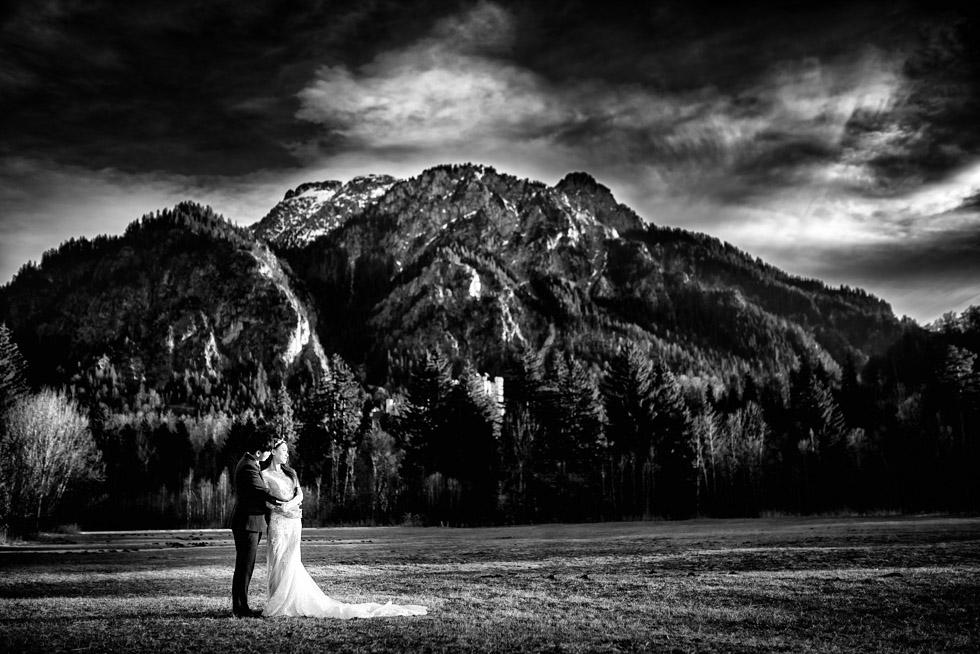 pre wedding neuschwanstein