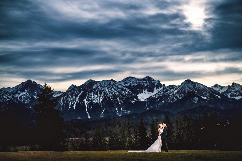 pre wedding shoot Füssen