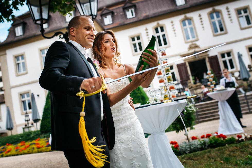 Hochzeit freie Trauung Schlosshotel Bad Neustadt an der Saale