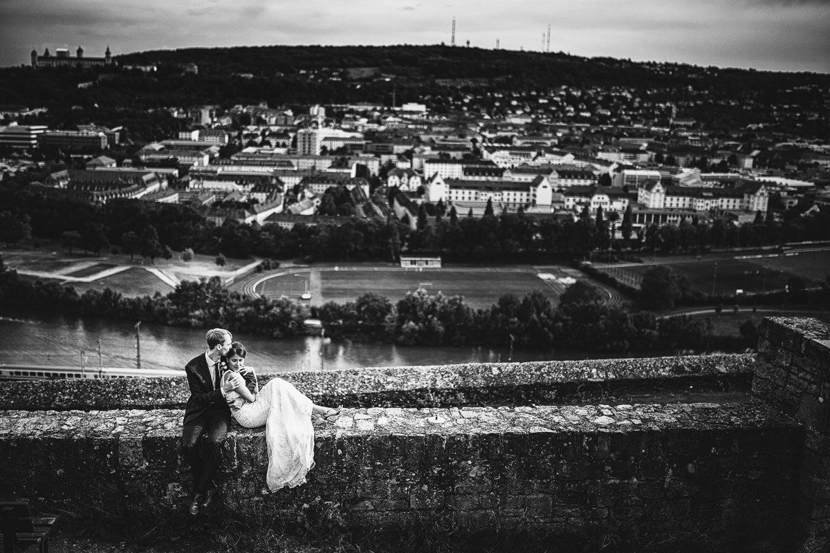 Hochzeitsfotograf Würzburg Steinburg