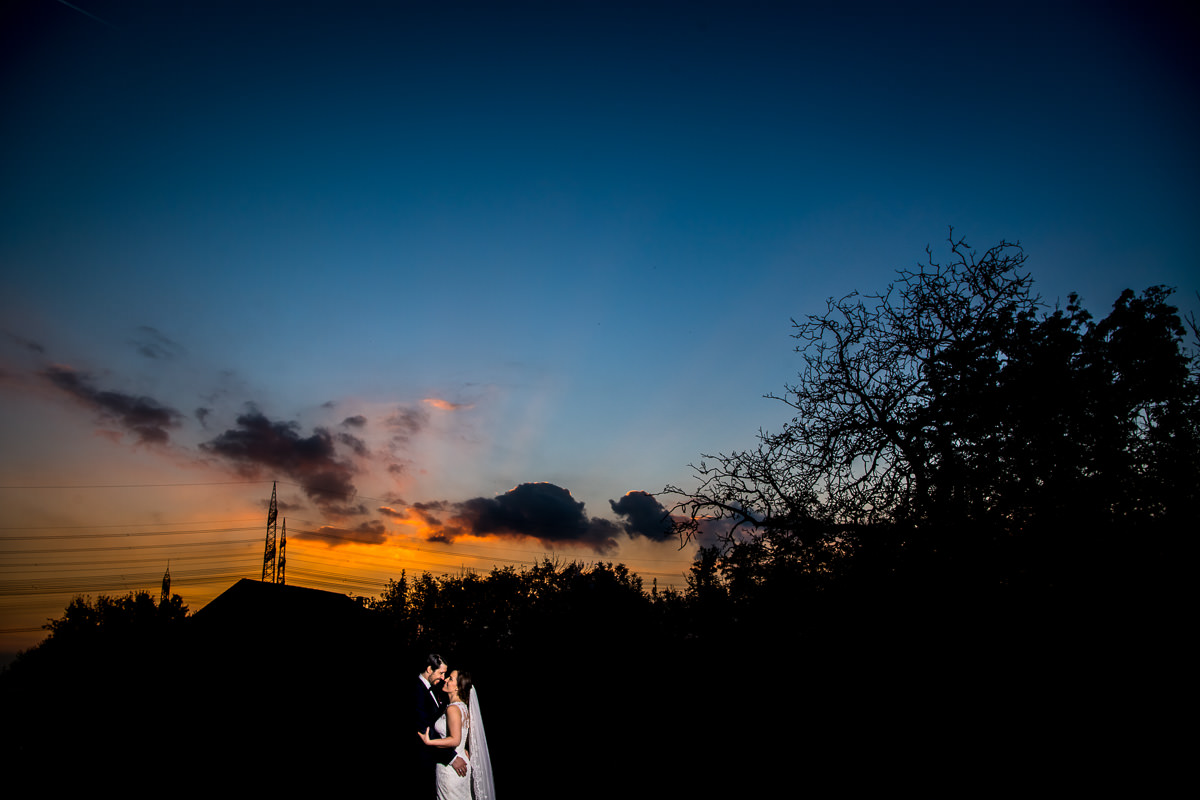 Hochzeit feiern im Grenzhof Heidelberg Brautpaarportraits