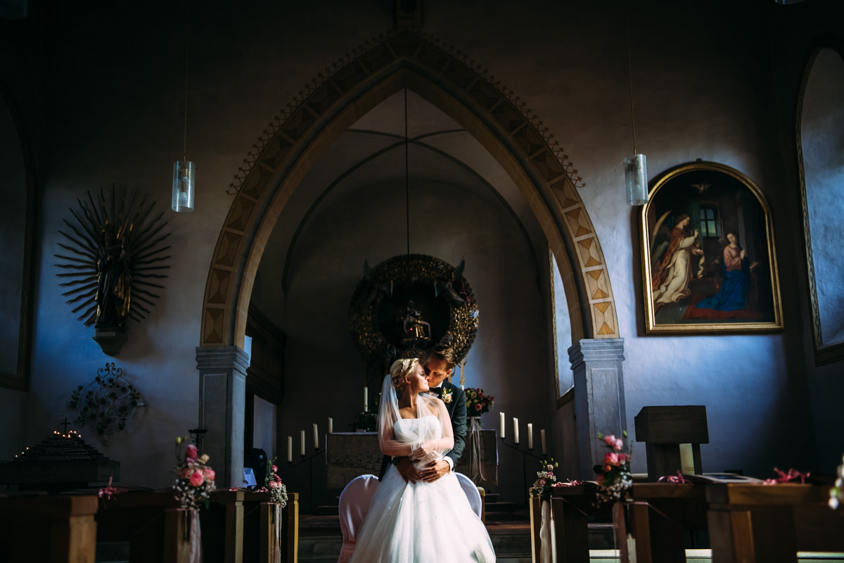 Hochzeit Neusaß Brautpaarportraits