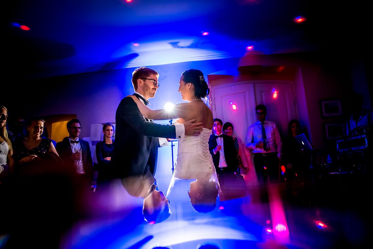 Hochzeitsreportage Fürstenlager first dance