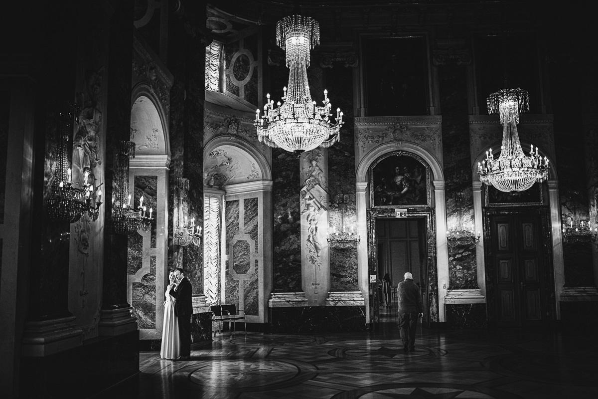 Hochzeitsfotos Rittersaal Schloss Mannheim
