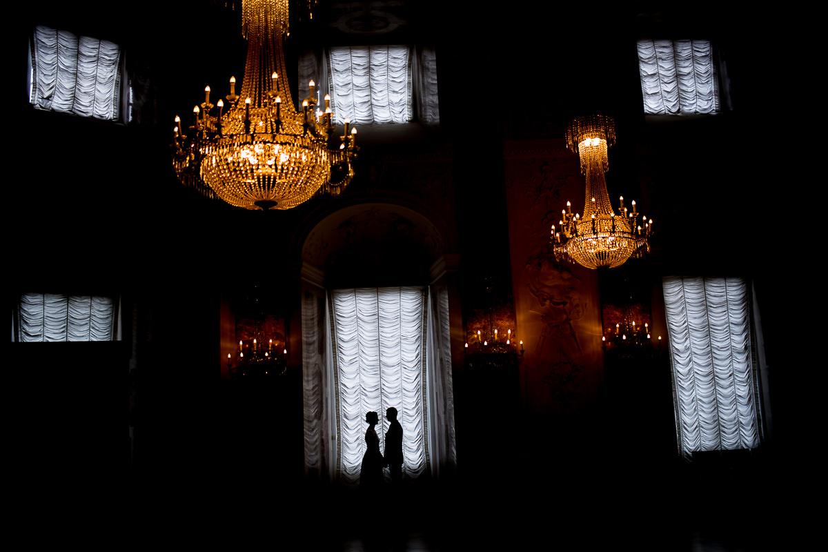 Hochzeitsportraits Schloss Mannheim