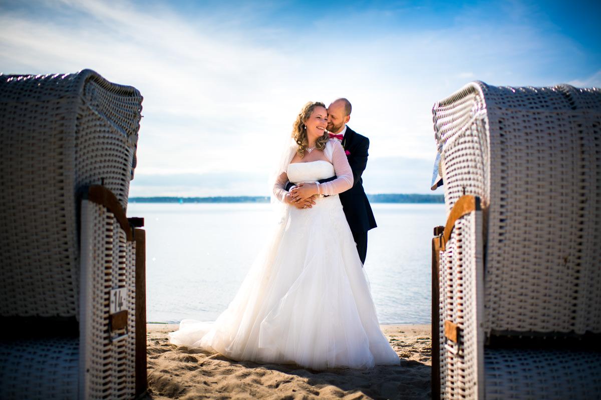 Hochzeitsfotograf Strand Glücksburg