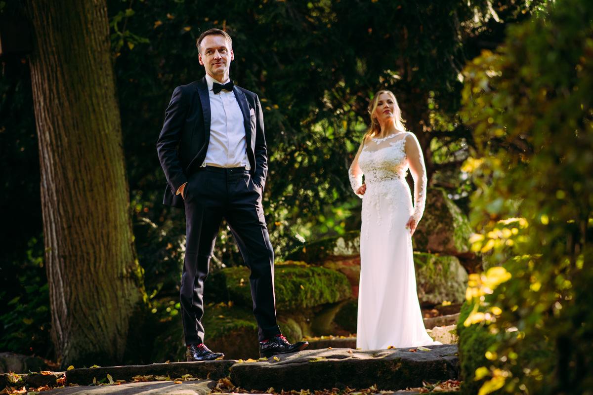 Hochzeitsportraits Schlossgarten Schwetzingen