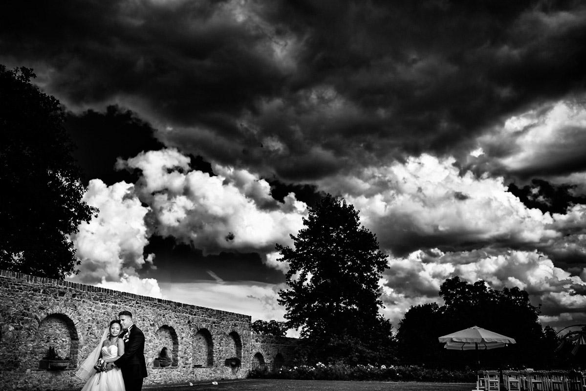 Hochzeitsfotograf Schloss Vollrads Portraits im Garten