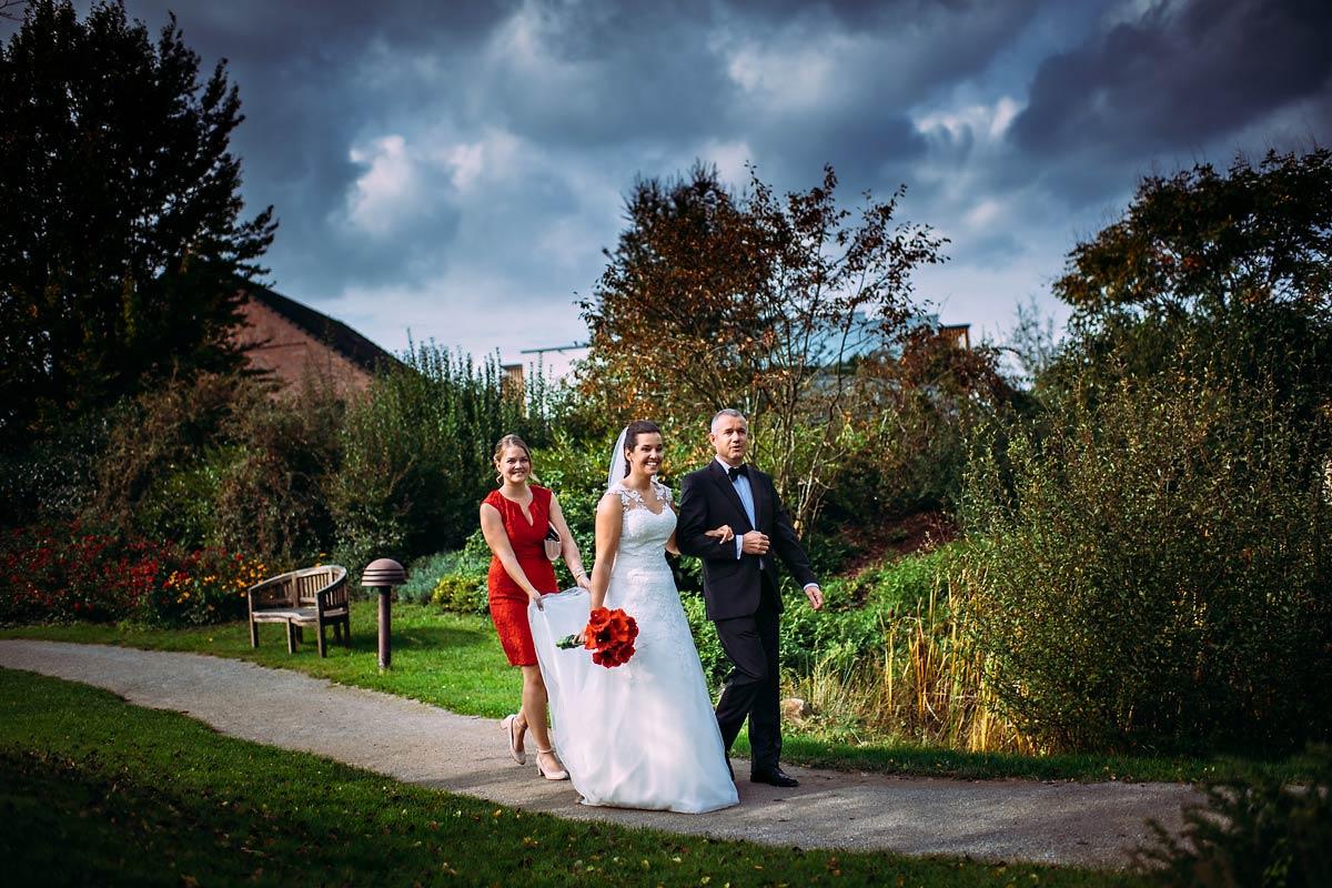 Hochzeit Landhotel Voshövel weg zum Confideum