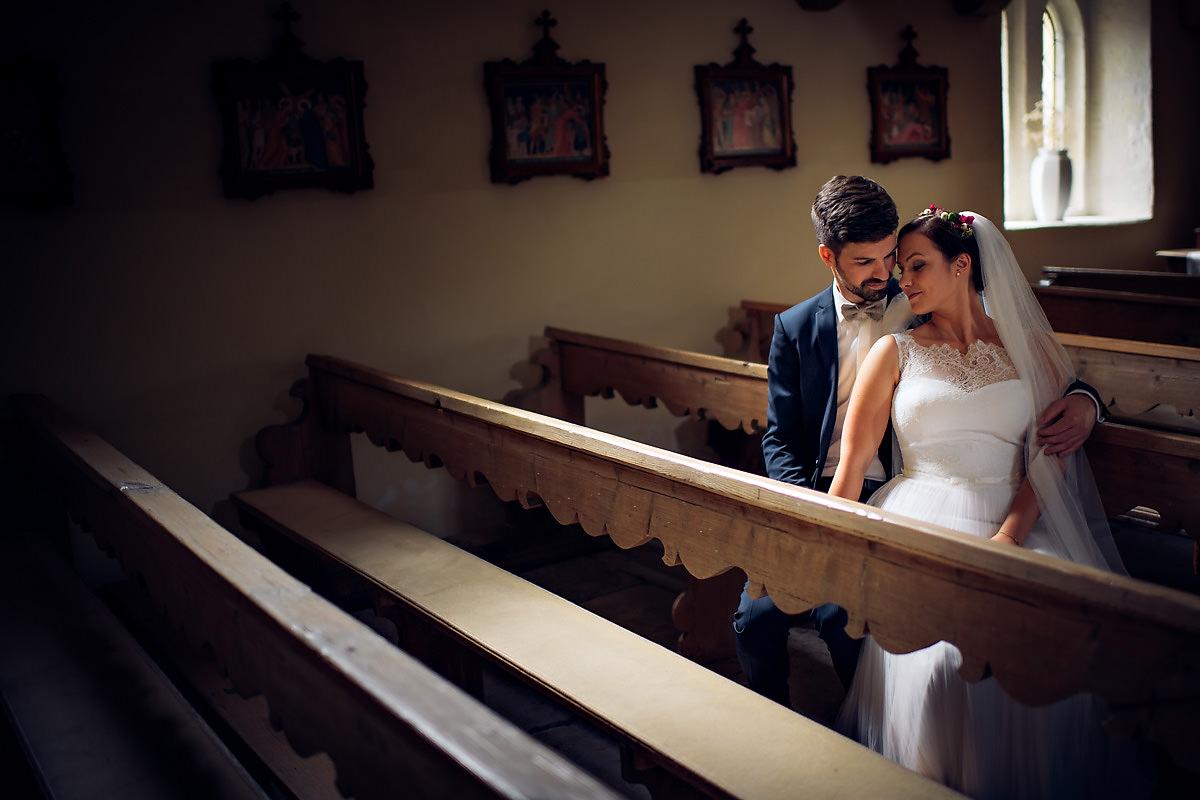 Hochzeitsbilder in der Michaelskirche in Gundelsheim
