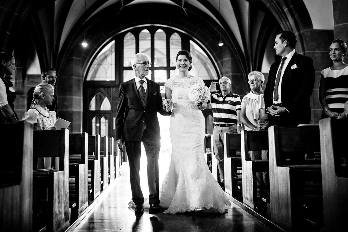 Hochzeit im Rheingauer Dom in Geisenheim