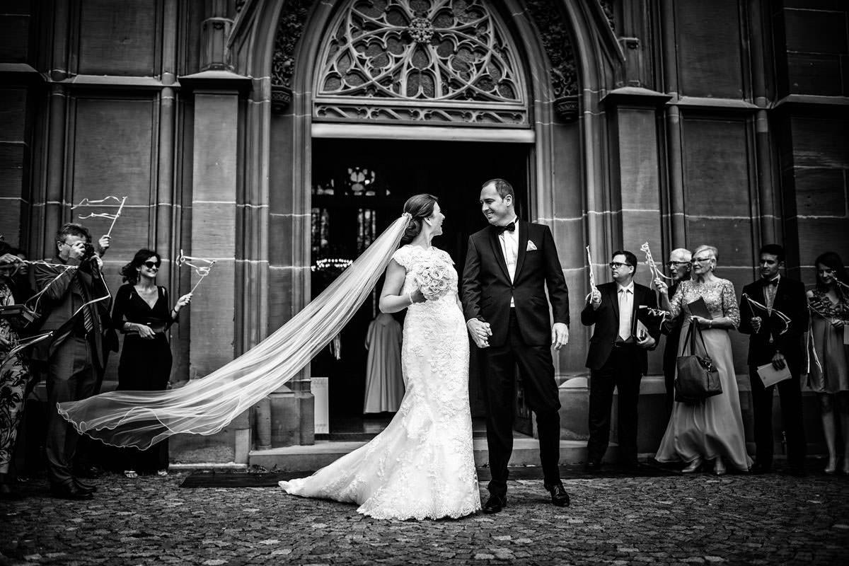 Hochzeit im Rheingauer Dom in Geisenheim im Reingau