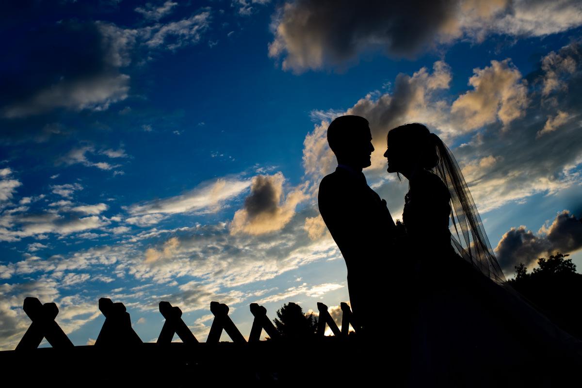 Hochzeitsbilder Wachenheim Sonnenuntergang