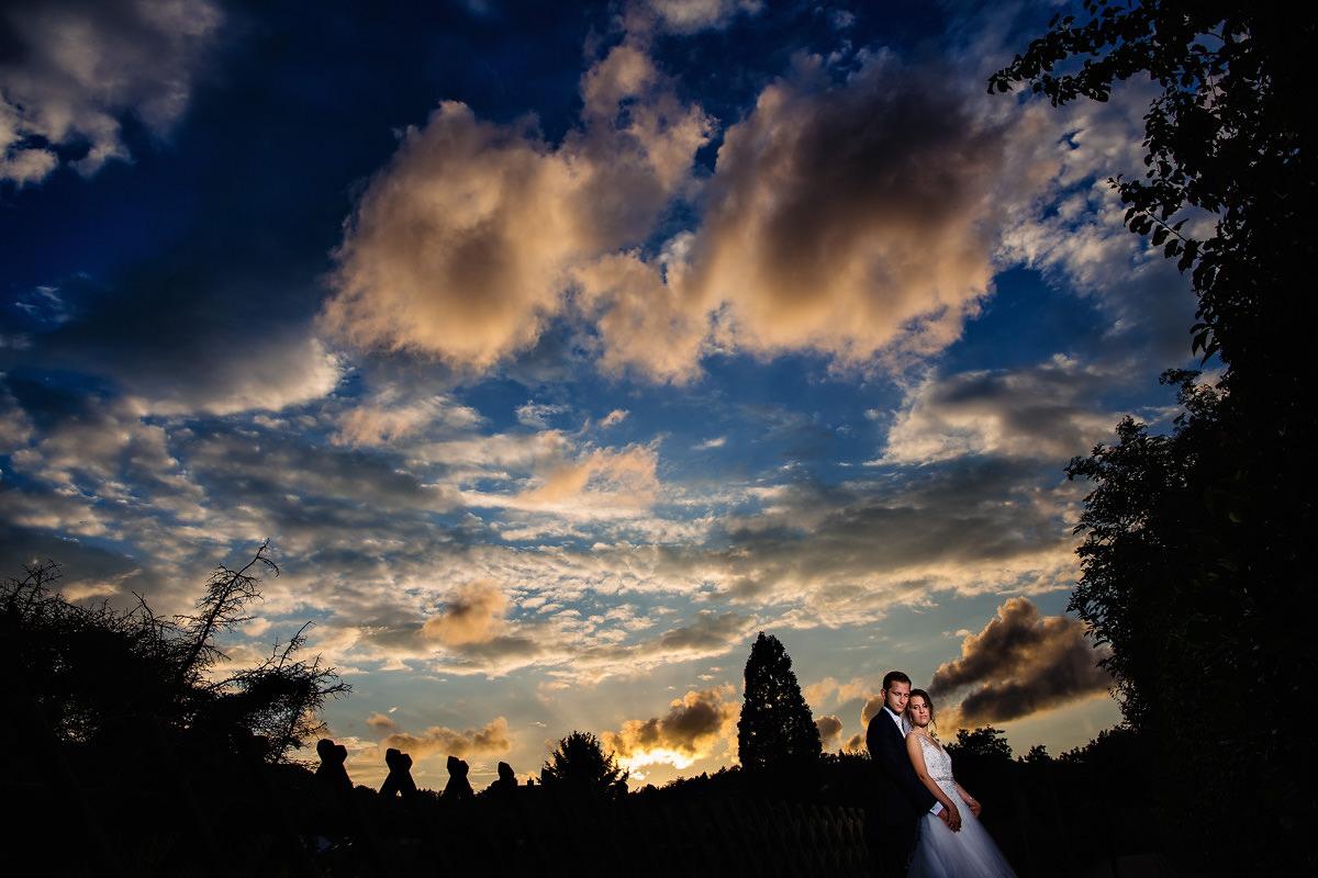 Hochzeitsfotos Wachenheim Sonnenuntergang