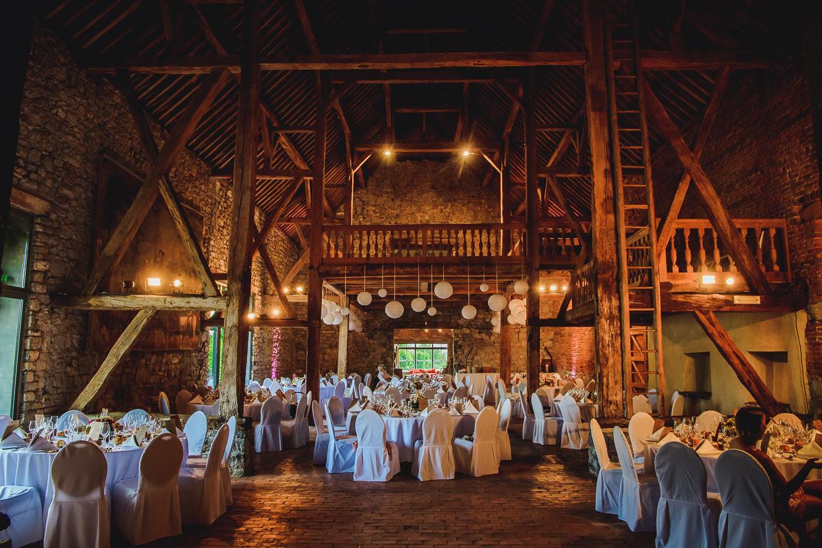 Hochzeit Scheune Chateau de Deulin