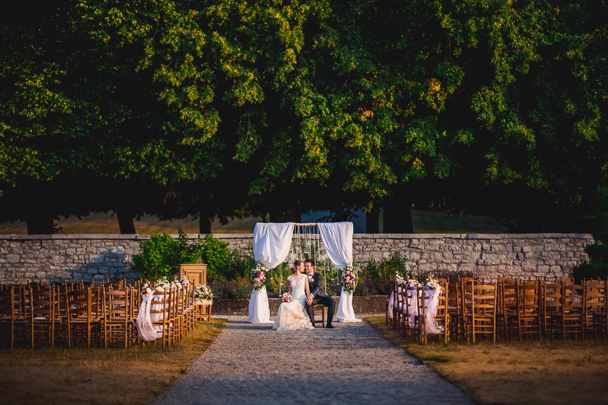 Hochzeitsreportage Chateau de Deulin