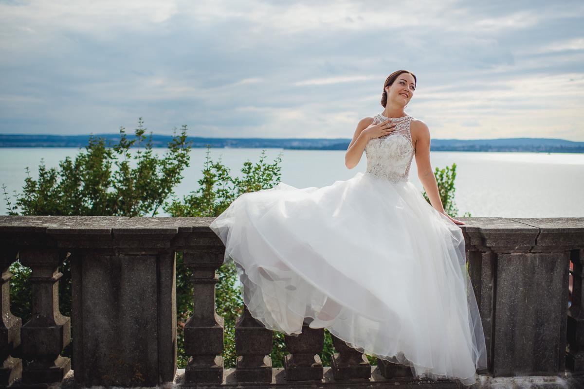 Hochzeitsportraits Neues Schloss Meersburg