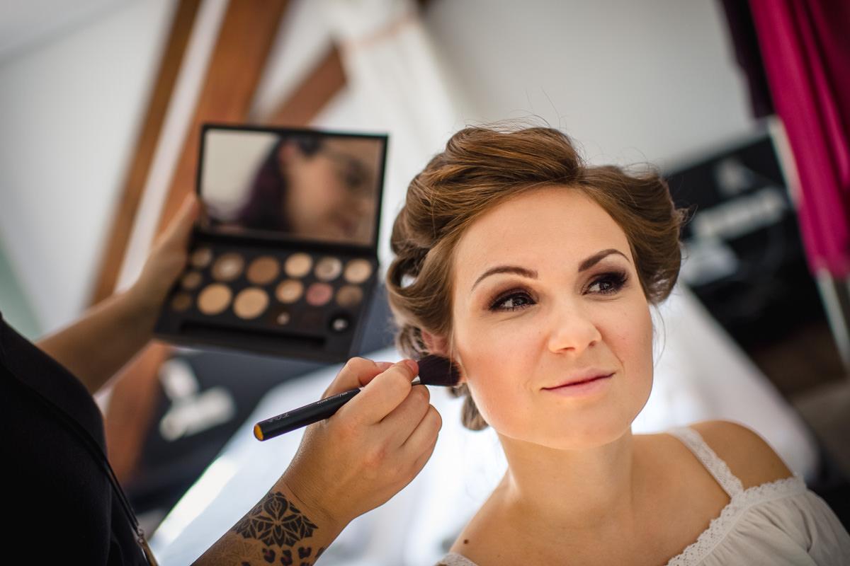 Brautvorbereitungen in Ettlingen