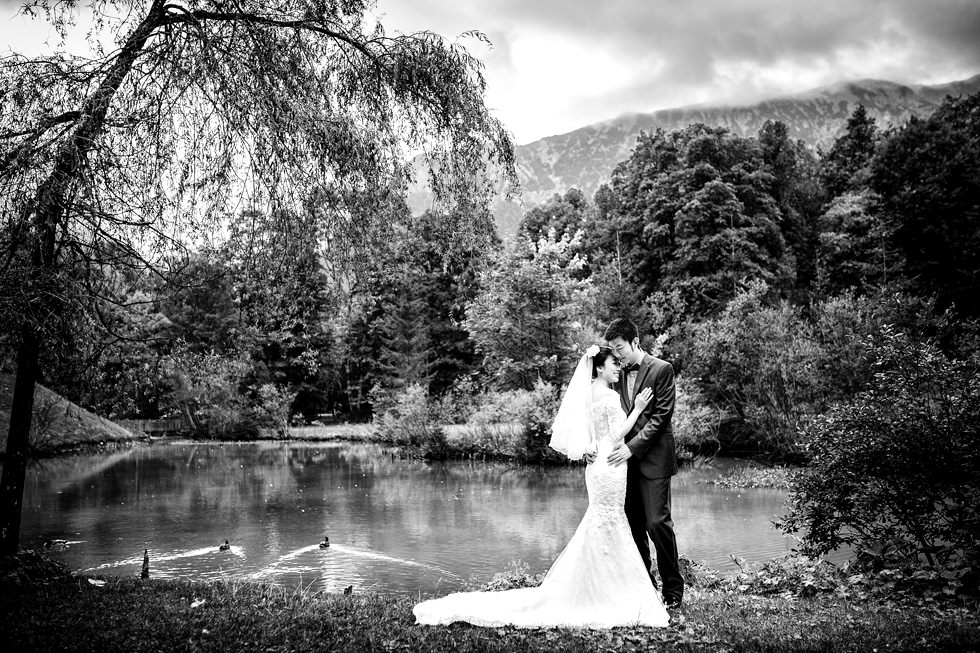 After Wedding Shooting Neuschwanstein