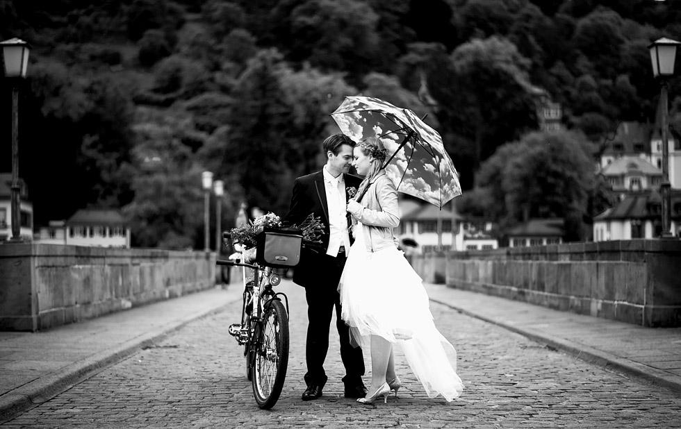 Hochzeit Heidelberg Brücke