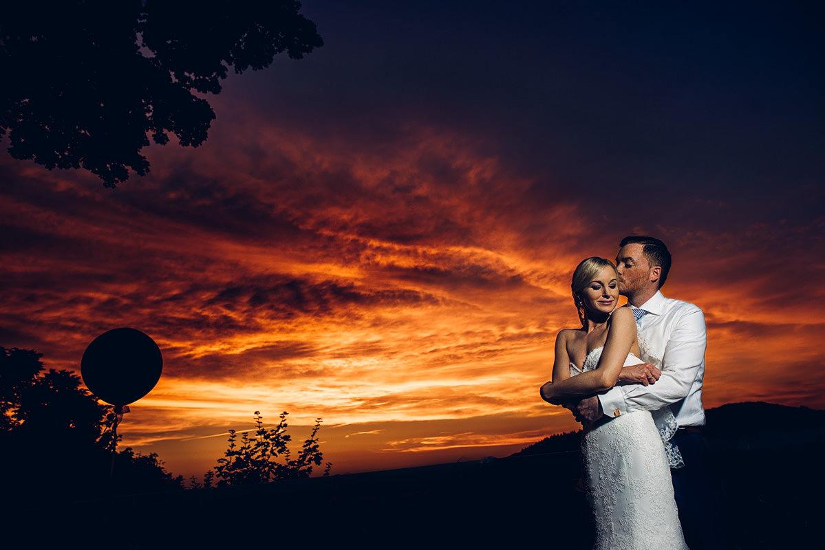 beste Zeit für Portraitfotos am Hochzeitstag