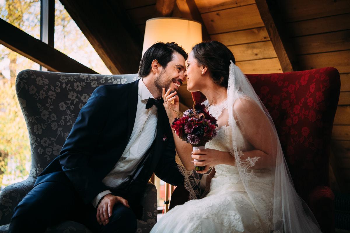 Hochzeit Fotograf Grenzhof Heidelberg Trauung im Saal