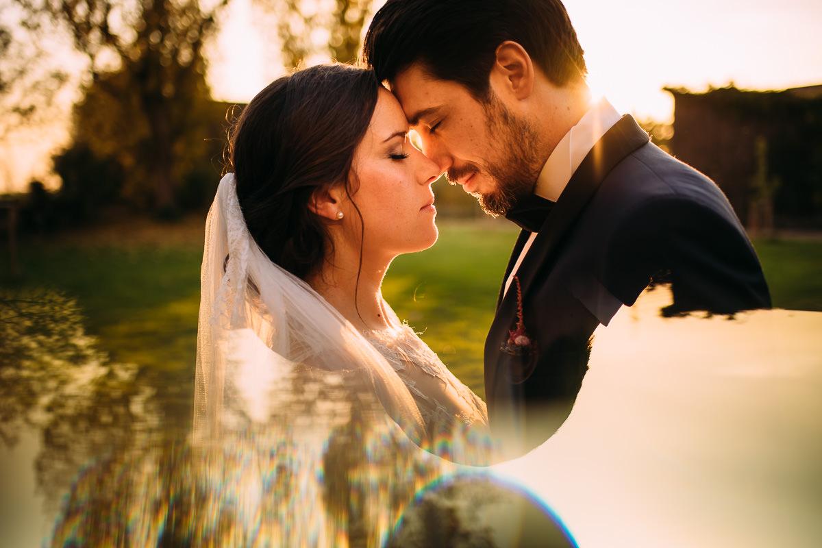 Hochzeit Fotograf Grenzhof Heidelberg Brautpaarportrait kreativ