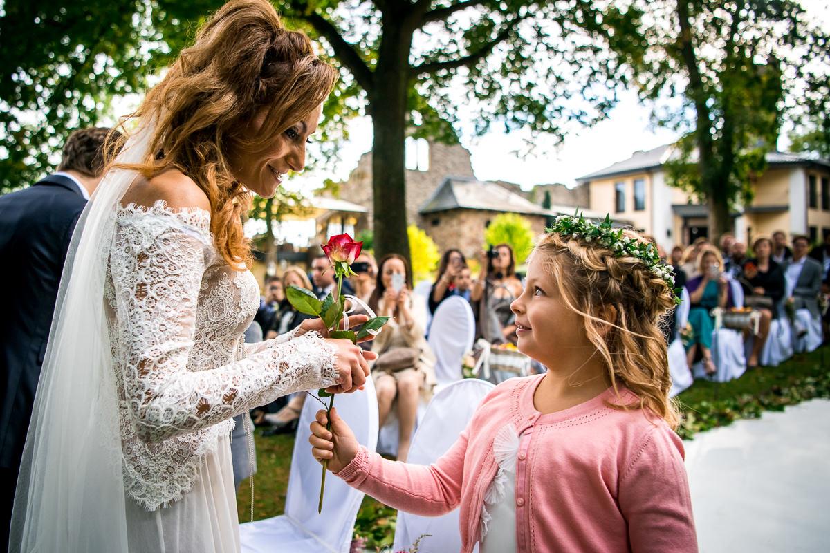 Hochzeit Burg Schwarzenstein freie Trauung Kinder