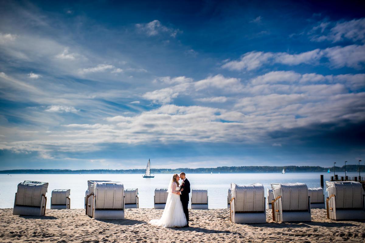 Hochzeit Strand Glücksburg