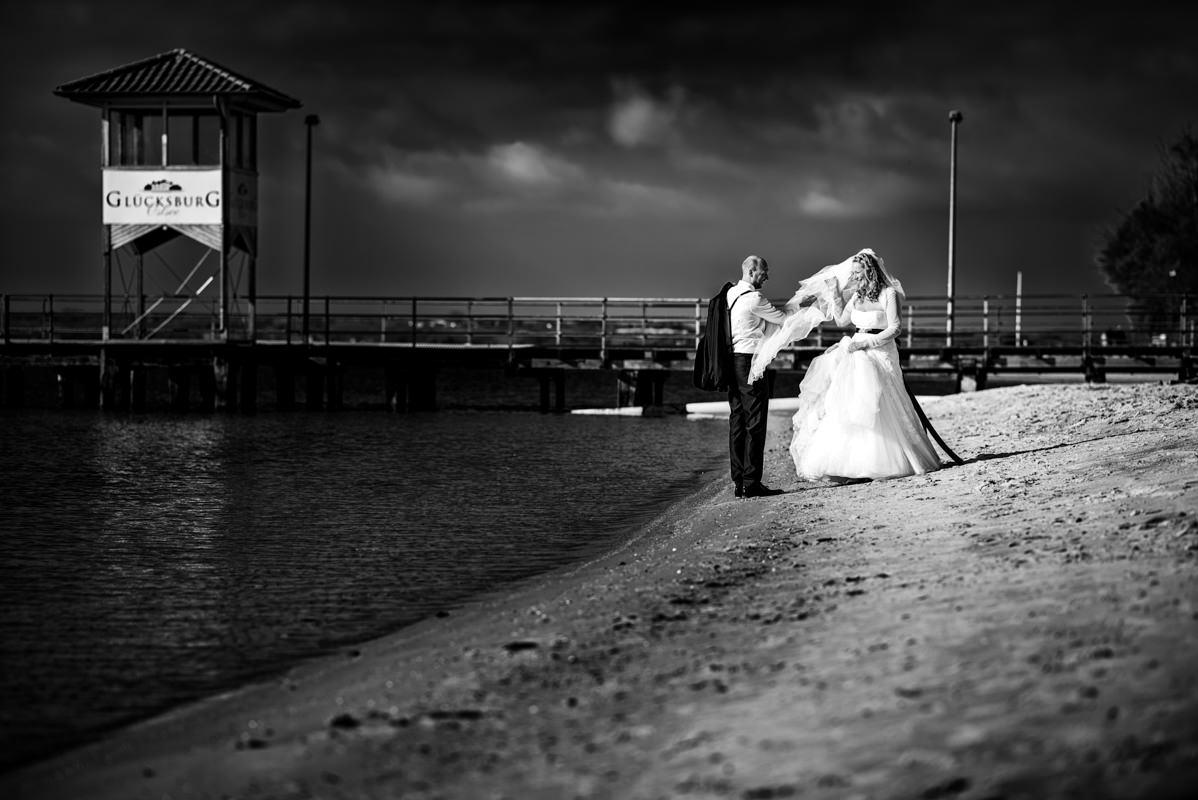 Hochzeitsfotograf Strandhotel Glücksburg