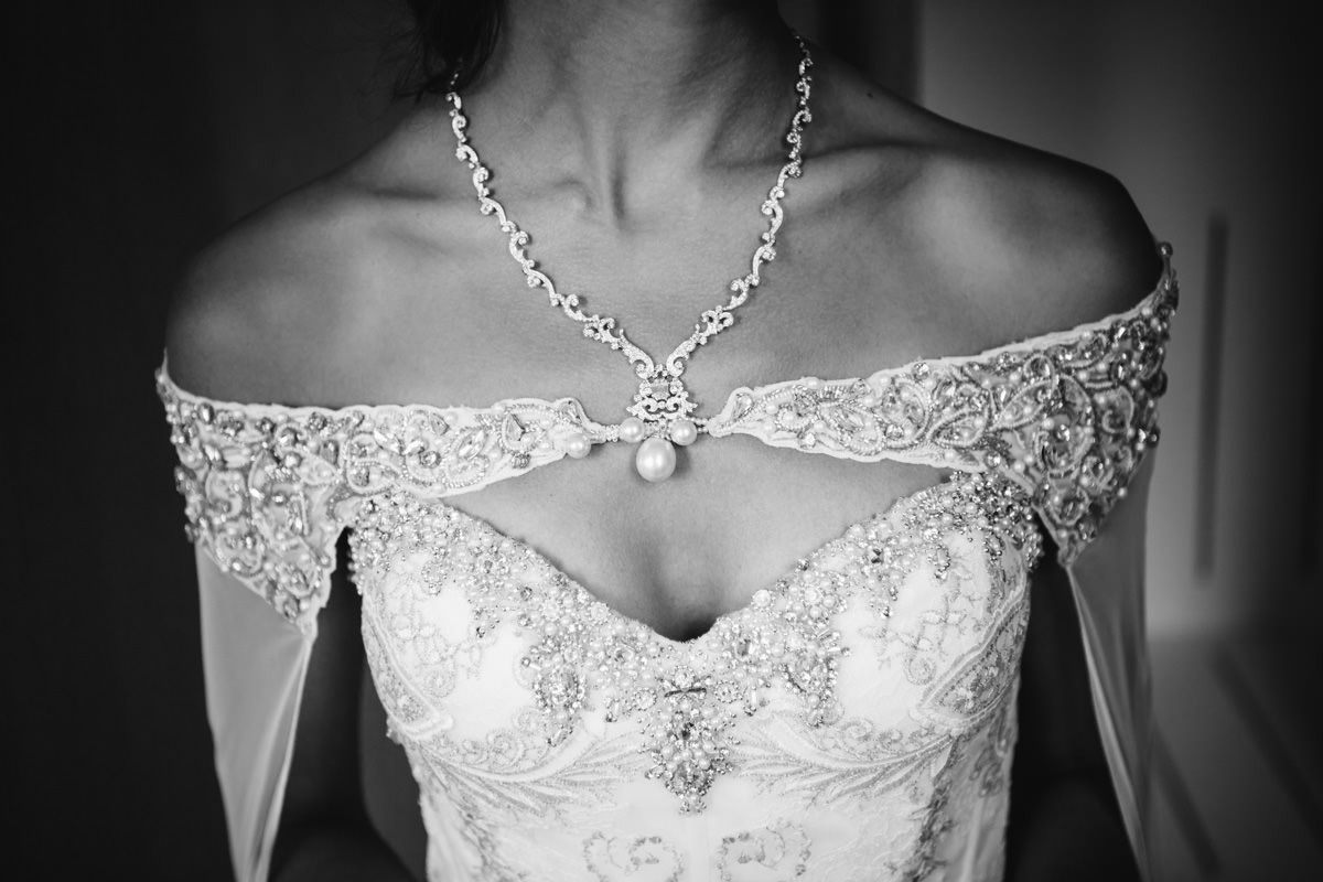 Details Brautkleid