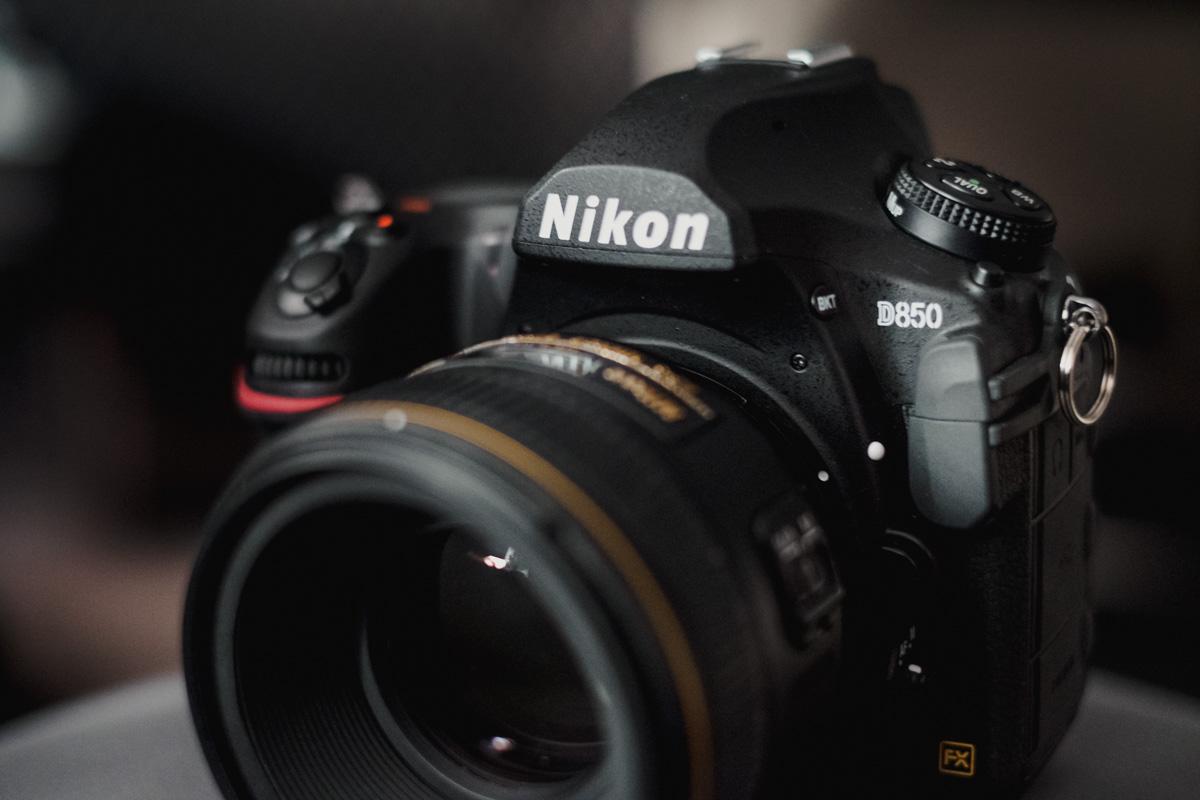 Test Nikon D850 für die Hochzeitsfotografie