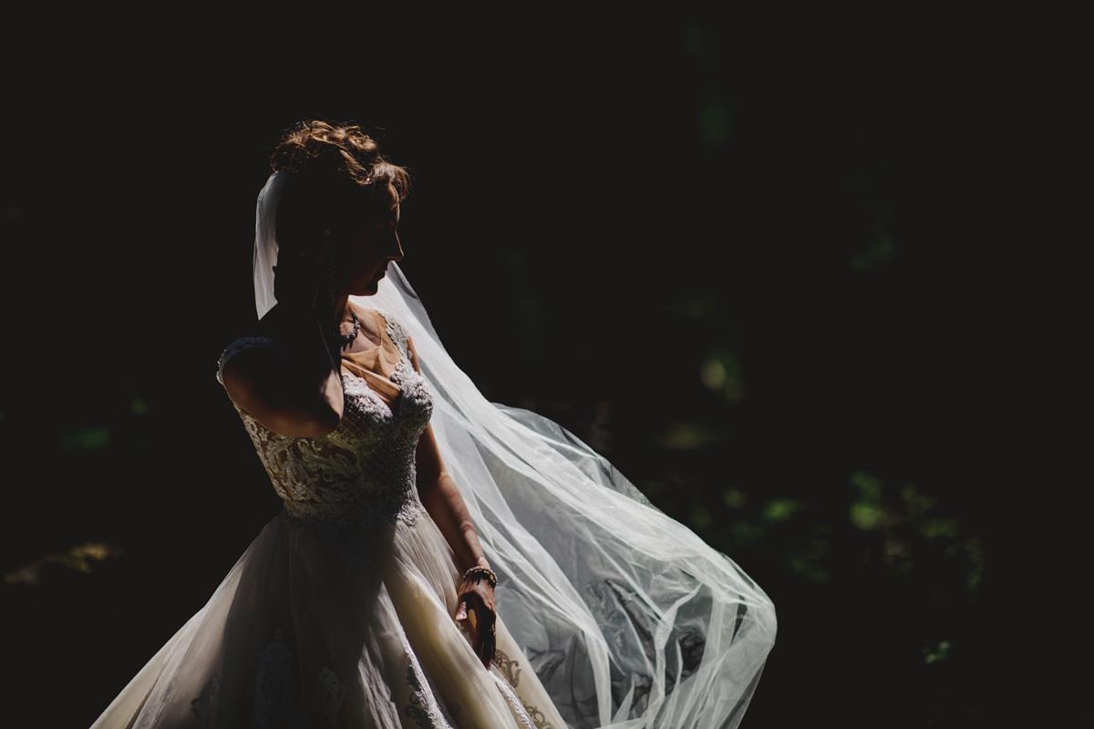 Hochzeitsfotos Feldberg Brautportrait