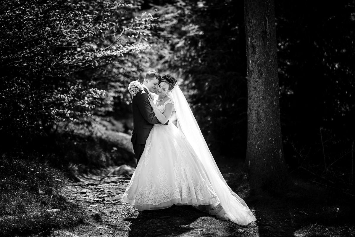 Hochzeit am Feldberg Brautpaarportraits