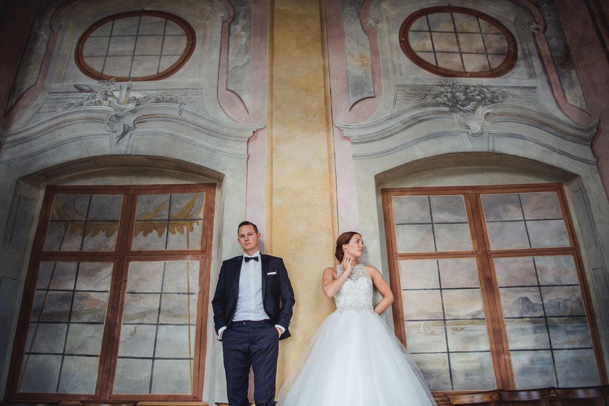 Hochzeitsfotografie neues Schloss Meersburg am Bodensee