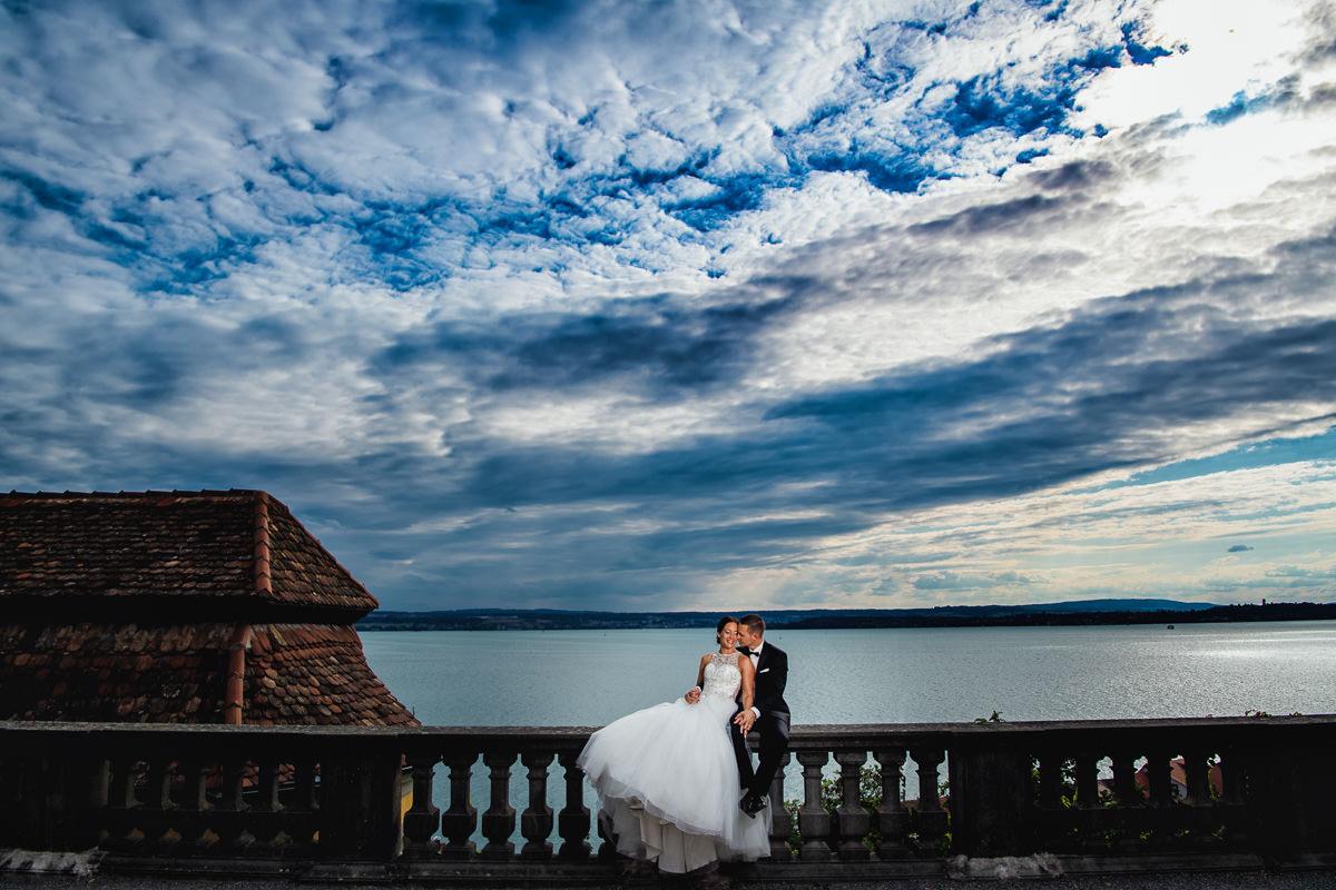 Hochzeit am Bodensee im Neuen Schloss Meersburg