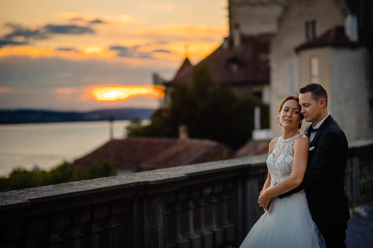 Hochzeitsfotograf neues Schloss Meersburg Bodensee