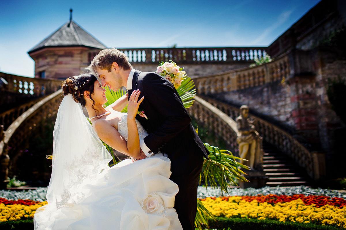 Hochzeitsportraits Festung Marienberg