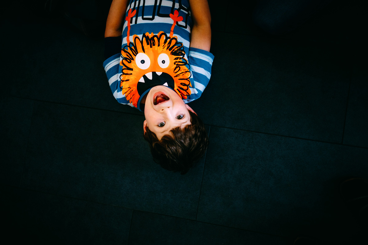 lustiges Kinderbild des Sohnes vom Hochzeitsfotografen Andreas Pollok
