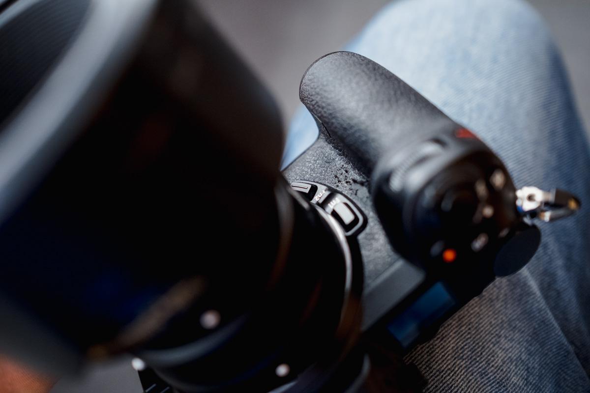 Griff der Nikon Z6