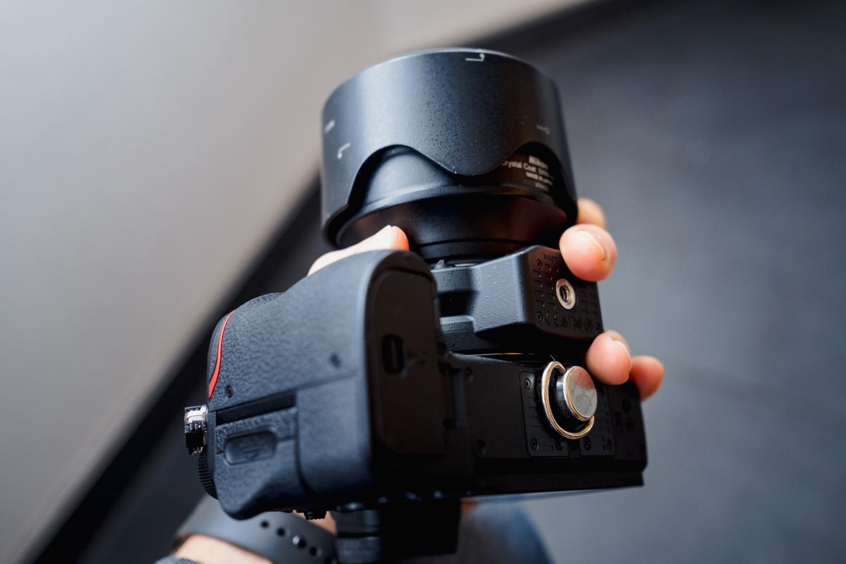 Handhaltung mit der Nikon Z6
